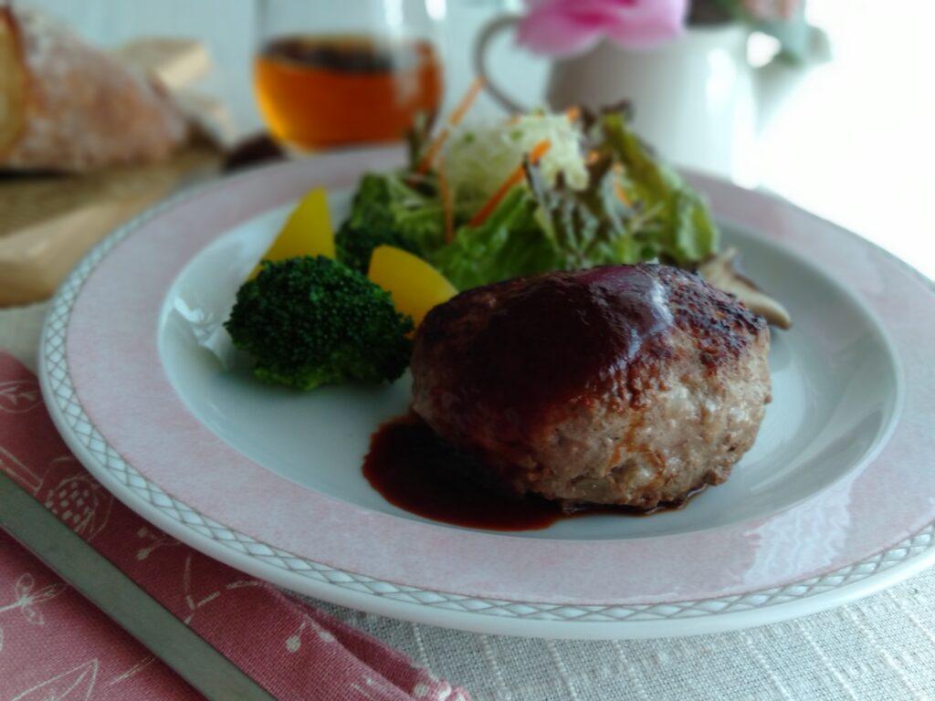 料理教室スタジオソラ ハンバーグ 実用料理